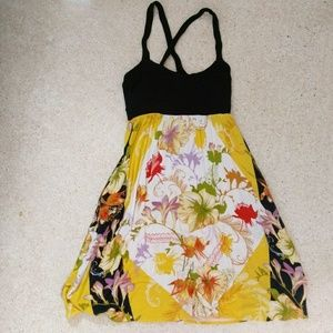Anthropologie floral dress with pockets
